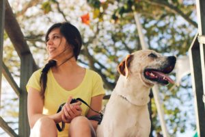 Feeling better with an anxiety service dog